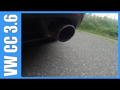 Volkswagen CC 3.6 V6 GOOD Exhaust Sound