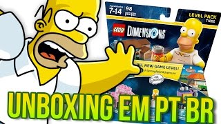 OS SIMPSONS LEVEL PACK   LEGO DIMENSIONS UNBOXING EM PORTUGUÊS #7