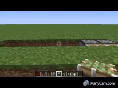 how to make a simple trap in minecraft pe