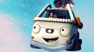 Олли Веселый грузовичок - Серия 14 - Гигантский скачок для грузовечества (Full HD)
