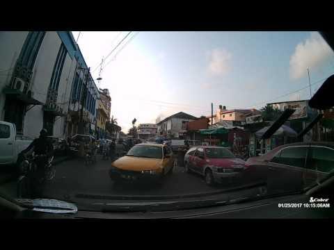 DOUALA -DRIVING AROUND
