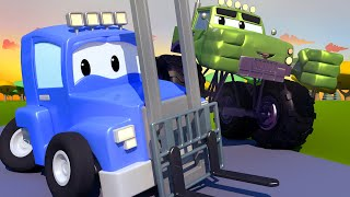 The FORKLIFT Truck - Carl the Super Truck in Car City | Children Cartoons