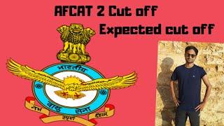 AFCAT 2 2018 Expected Cutoff