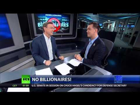 Sparks Fly! Thom Hartmann vs. Austin Petersen...Ending Billionaire-ism?
