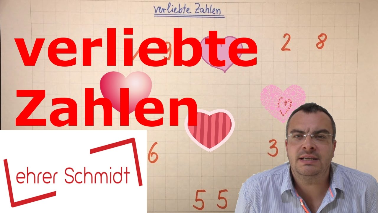 verliebte Zahlen | Mathematik | Grundschule - YouTube