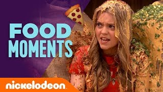 Top 13 Food Moments 🍕 Ft. The Loud House, Henry Danger, Victorious & More! | #TBT