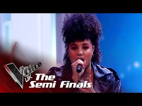Ruti Olajugbagbe Performs 'Waiting For A Star To Fall': The Semifinals | The Voice UK 2018