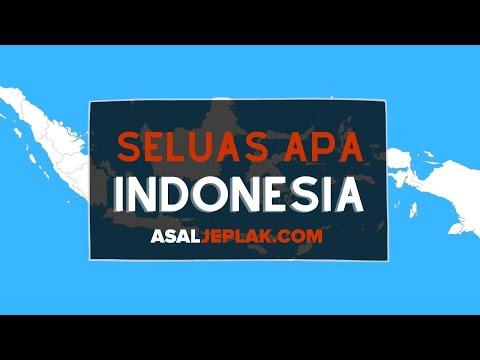 SELUAS APAKAH INDONESIA? Jika dibandingkan dengan negara lain