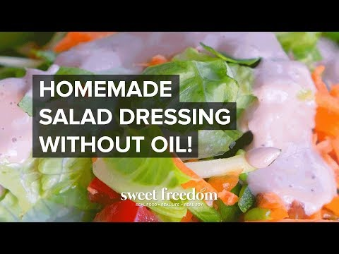 How To Make Salad Dressing Without Oil