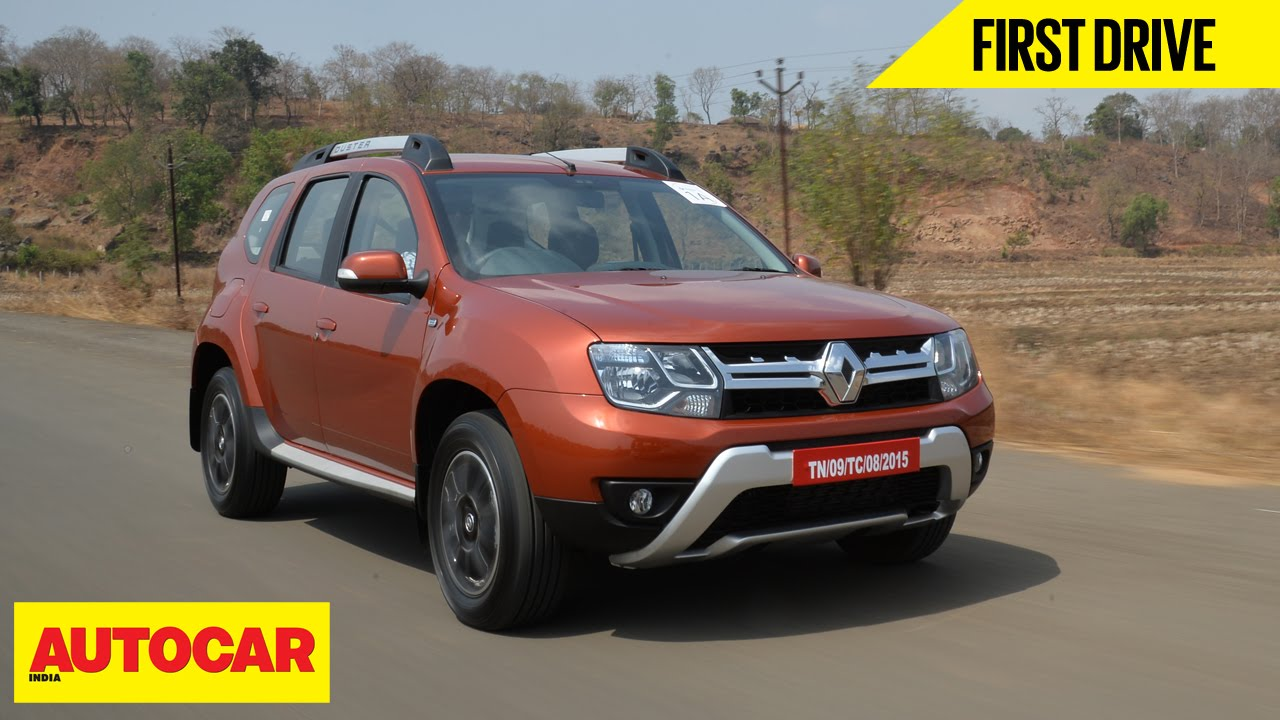 Renault duster easy r amt first drive autocar india youtube voltagebd Images