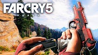Far Cry 5 - NEW CUSTOM M9 PISTOL (Far Cry 5 Free Roam) #43