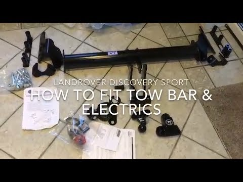 Discovery Sport Tow Bar - How to Fit Towbar & Electics for Less than £200