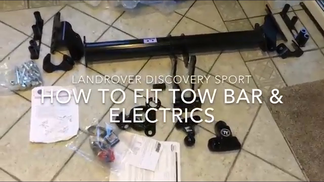 Discovery Sport Tow Bar How To Fit Towbar Electics For Less Than Land Rover Freelander Wiring Diagram 200