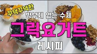 현솜네밥상 꾸덕한 수제 그릭요거트 / 홈메이드 요거트만…