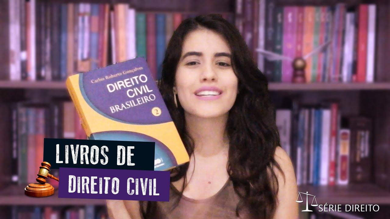 Livros de Direito Civil   Série Direito - YouTube