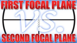 Focal Plane? First Focal Plane vs. Second Focal plane explained.