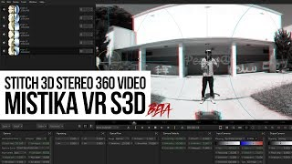 stitch stereo 3d 360 video with sgo mistika vr s3d beta review tutorial