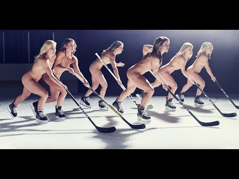ESPN The Mag's Body Issue Featuring the U.S. Women's Hockey Team