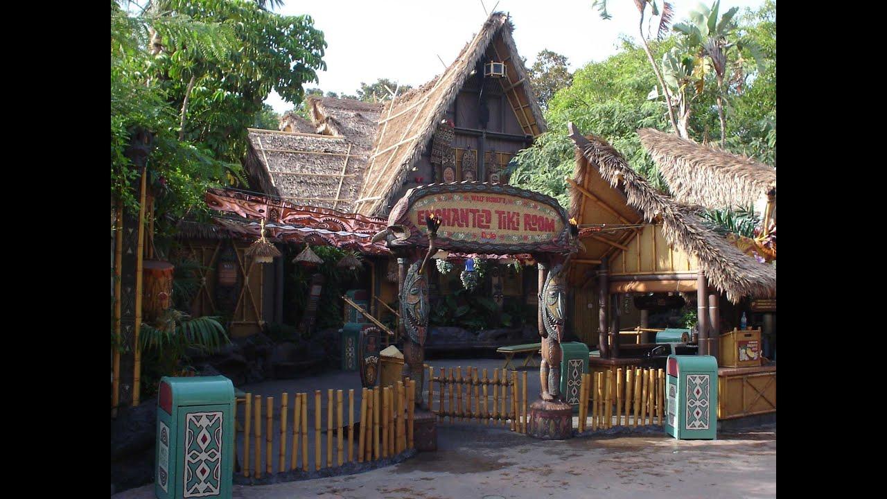 Enchanted Tiki Room  Disneyland  YouTube