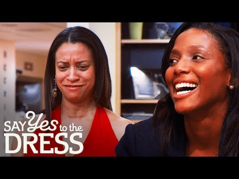 Psychologist Sister Tries to Manipulate the Bride | Say Yes To The Dress Bridesmaids. http://bit.ly/2JHxj9e