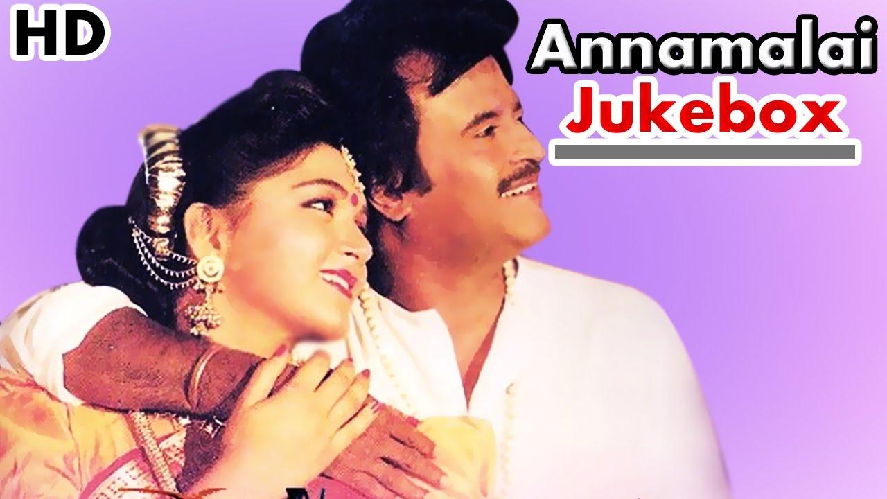 Annamalai (1992) Tamil Song Lyrics in Tamil Font. Music Deva