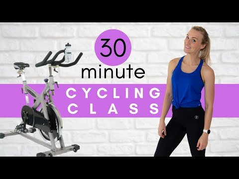30 min Indoor Cycling Class