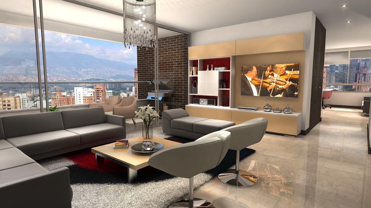 Reserva de alejandr a apartamento en venta medell n el for Apartamento modelo