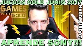 ¡¡¡APRENDE SONY!!! JUEGOS GRATIS CON GOLD JUNIO 2017 - Hardmurdog