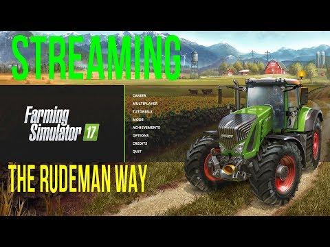 Farming Simulator 2017 Live Streaming Upper Mississippi River Valley