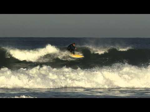 Surf à Hossegor (plage des culs nus)