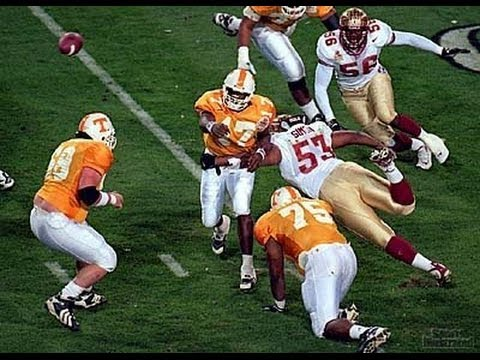1999 Fiesta Bowl  #2 Florida State (11-1) vs. #1 Tennessee (12-0)