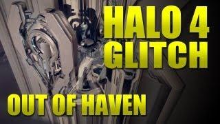 Halo 4 - glitch - way outside Haven! - (in theatre)