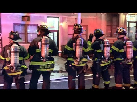 FDNY BOX 0595 - FDNY OPERATING AT QUICKLY KNOCKED DOWN10-75 DRYER FIRE IN LAUNDROMAT ON WEST 21ST ST