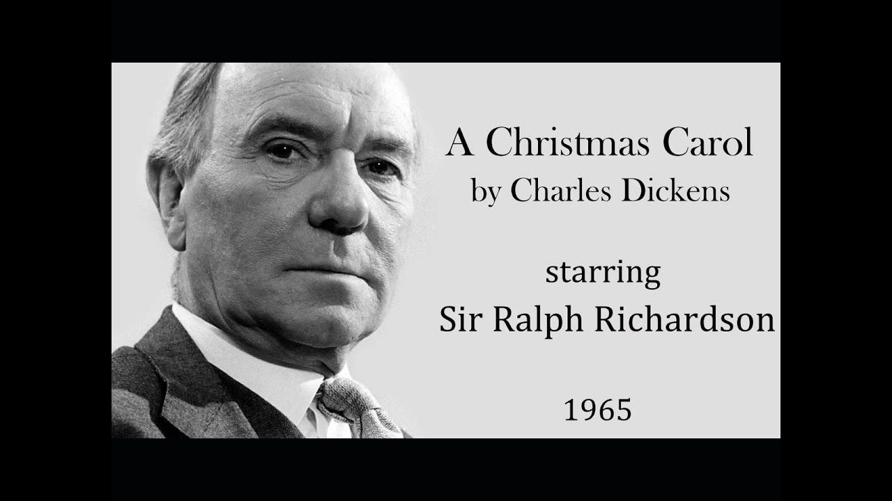 a christmas carol by charles dickens radio drama starring ralph richardson 1965 youtube - A Christmas Carol 1999 Cast