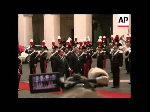 President Berlusconi meets President Lula