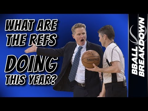What Are The NBA Refs DOING This Year?