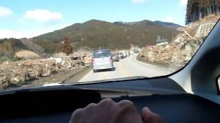 陸前高田市竹駒町津波被害状況 Tsunami damage at Takekoma-cho thumbnail