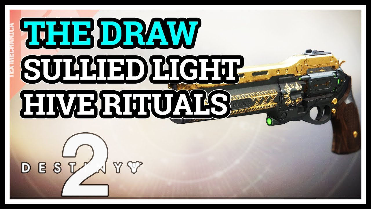 Heroic Hive Rituals Completed Sullied Light Destiny 2