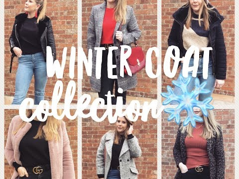 Winter Coat Collection - My Top 10 Favourite Coats