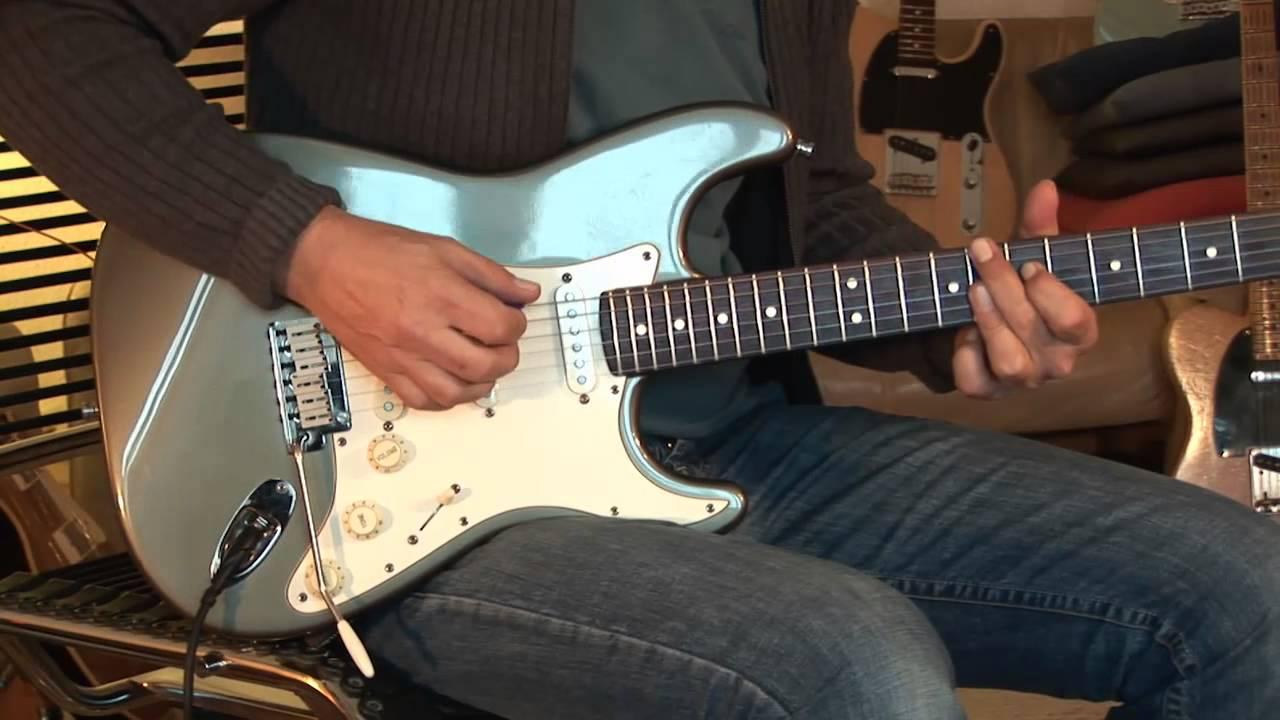 1989 Fender Stratocaster USA American Std. inka silver - YouTube