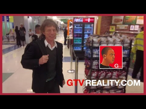 Mick Jagger laughs at my dance moves on GTV Reality