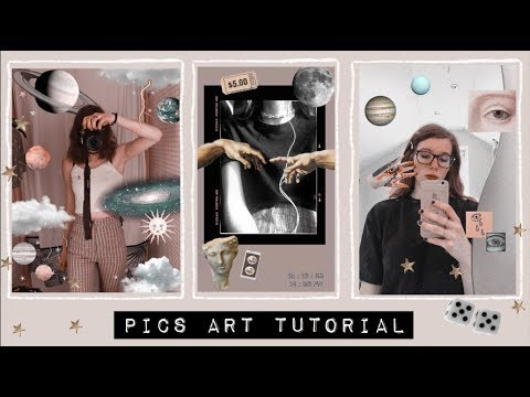 how to make your pictures aesthetic ☆ picsart tutorial ☾