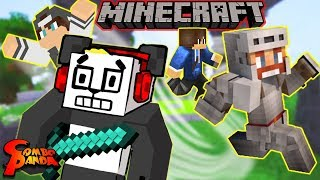 DEATHRUN in MINECRAFT for Minecraft Monday ! Let's Play Minecraft Minigame with Combo Panda