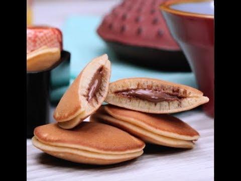 Mini Dorayaki con Nutella®