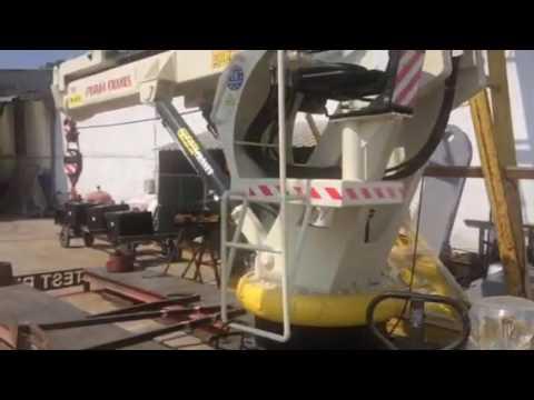 Deck crane made in turkey puma cranes