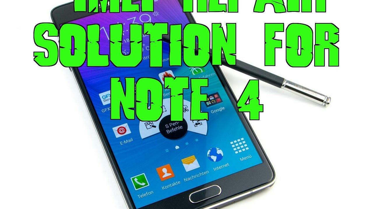 T-mobile Note 4 SM-N910T IMEI Repair or Unlock Last Version 6 0 1