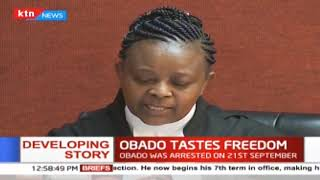 Obado tastes freedom as court releases him on KSH5M bond