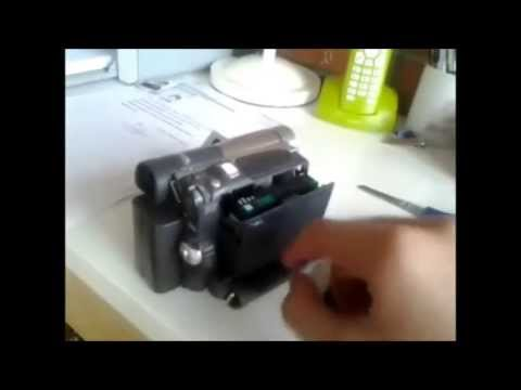Ayuda Con Videocamara De Cinta MiniDV
