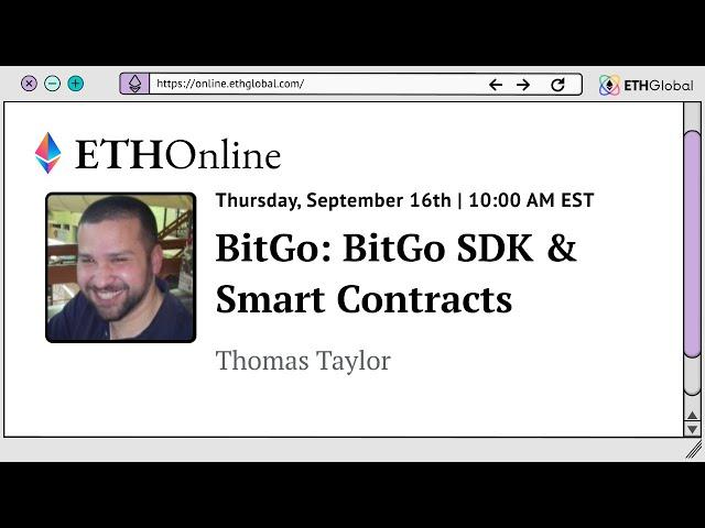 BitGo: BitGo SDK & Smart Contracts