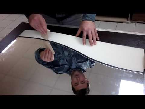 """Схема размещения зеркал при поклейке для шкафа """"Комфорт-12"""""""